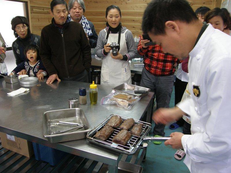鹿肉料理教室_c0057390_043198.jpg
