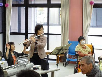 施設間交流 音楽療法_a0154110_16243125.jpg