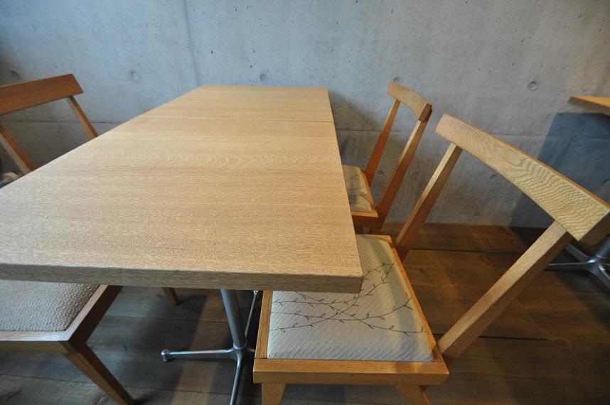 カフェの現場から 「木の温もりのある空間づくり」_e0028417_103155.jpg