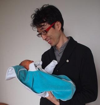 木村君、おめでとう!第1子誕生の喜びは忘れられないものです。誰にとっても。_d0148223_725615.jpg