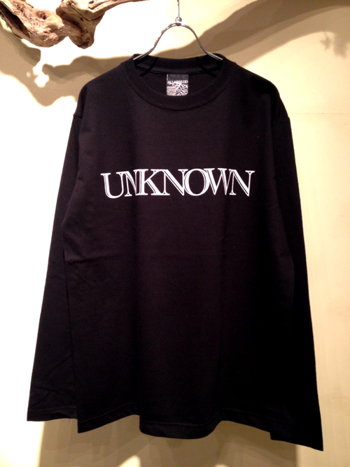 "L/S Tee ""UNKNOWN\""_f0126931_1742095.jpg"