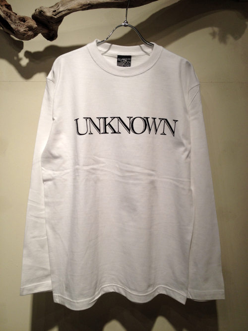 "L/S Tee ""UNKNOWN\""_f0126931_174218.jpg"