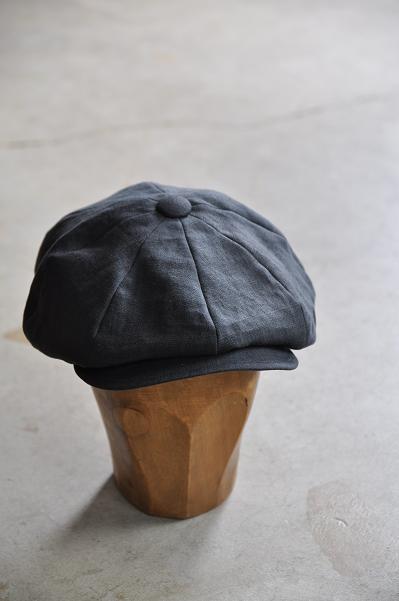 KIJIMA TAKAYUKI リネン キャスケット 帽子