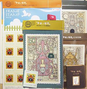 切手グッズ作りました_f0152544_20132430.jpg