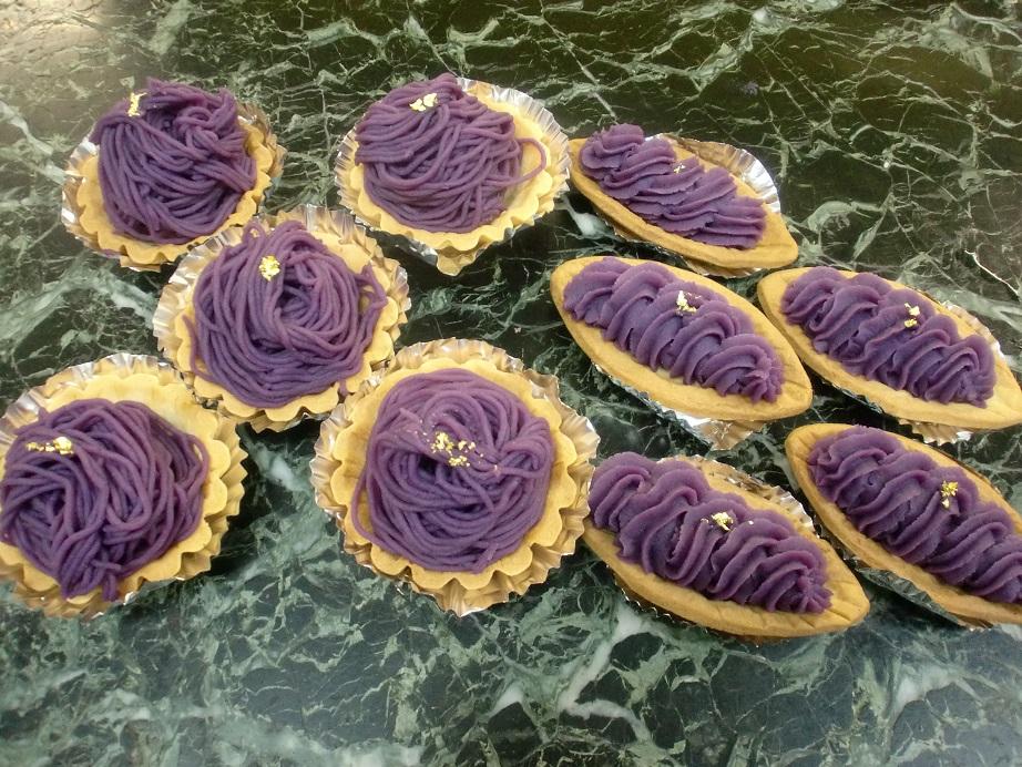 紫芋のタルト_f0173549_1914423.jpg
