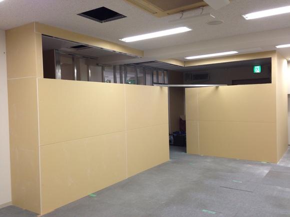 淀屋橋 事務所工事進捗状況_f0300358_1748302.jpg