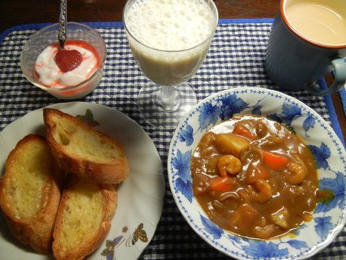 '14,3,5(水)今日のパパご飯はキララカレー!_f0060461_14325758.jpg