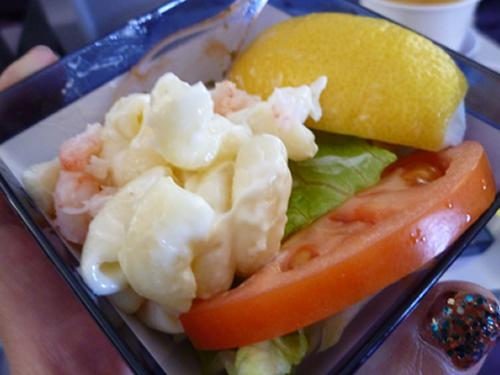 CHINA AIRLINES ホノルル→成田便の機内食_c0152767_14253138.jpg