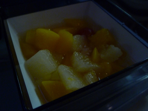 CHINA AIRLINES ホノルル→成田便の機内食_c0152767_14272850.jpg