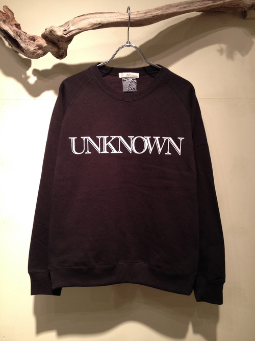 "L/S CREW NECK SWEAT ""UNKNOWN\""_c0127070_19344239.jpg"