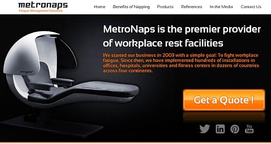 NYの街角に睡眠マシーンのポップアップ展示?!_b0007805_2363425.jpg