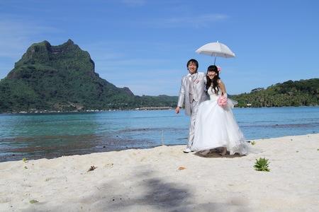 新郎新婦様からのメール 花のネックレス、花のイヤリング 太平洋の真珠へ2_a0042928_21212458.jpg