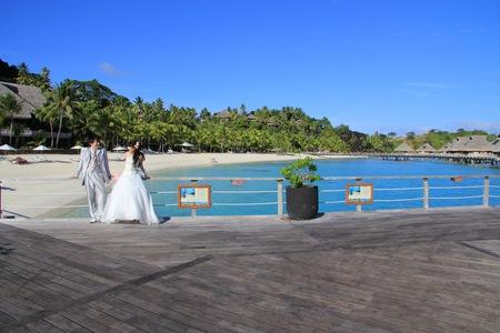 新郎新婦様からのメール 花のネックレス、花のイヤリング 太平洋の真珠へ2_a0042928_213456.jpg