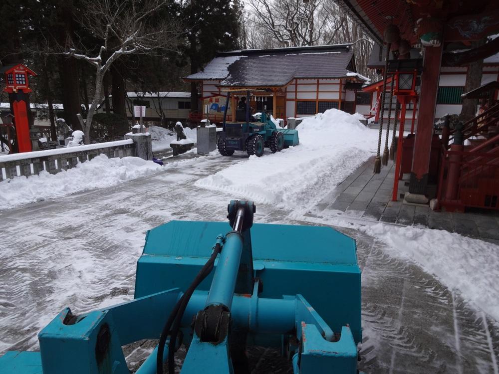 除雪から始まった一日_c0111229_17573562.jpg