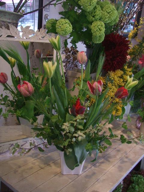 オークリーフ花の教室(赤地さんと宮原さんの作品)_f0049672_17462440.jpg