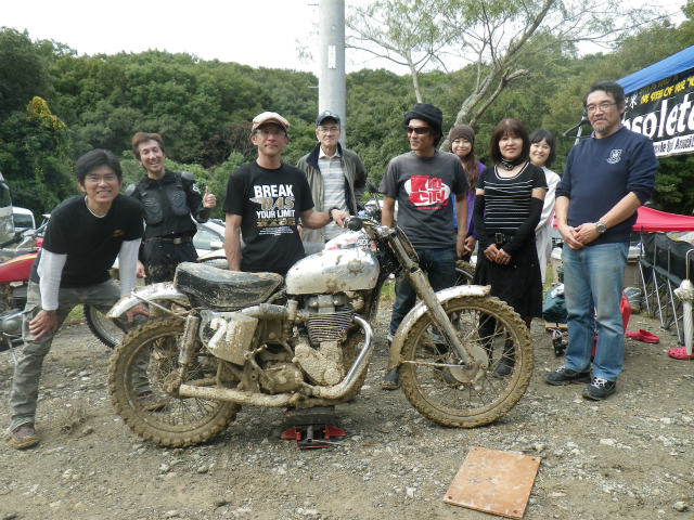 BSA GOLD STAR SCRAMBLER 4年目のメンテ_f0200399_20181717.jpg