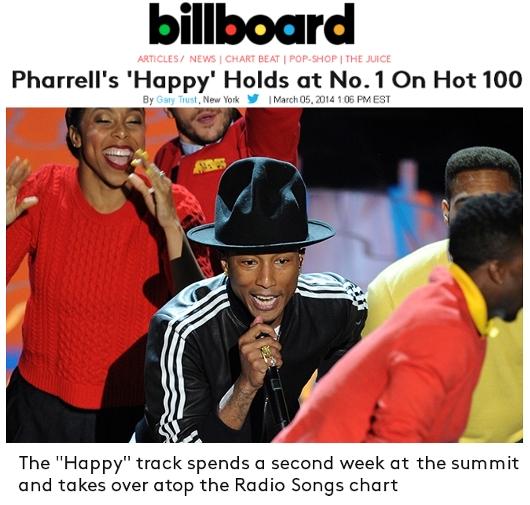 """ファレル・ウィリアムズ (Pharrel Williams)の""""Happy""""が大ヒット中_b0007805_0414776.jpg"""