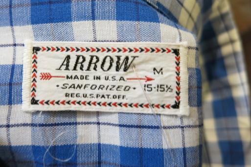 3月8日(土)入荷! 50'S  ARROW コットンオープンカラーシャツ!_c0144020_15545099.jpg