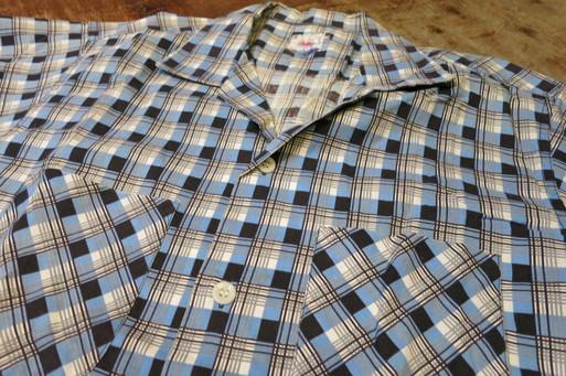 3月8日(土)入荷! 50'S  フルーツ オブ ザ ルーム コットン オープンカラーシャツ!_c0144020_15581811.jpg