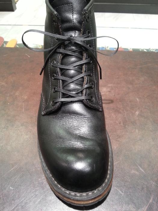 ワークブーツに紗乃織靴紐を_b0226322_11591841.jpg