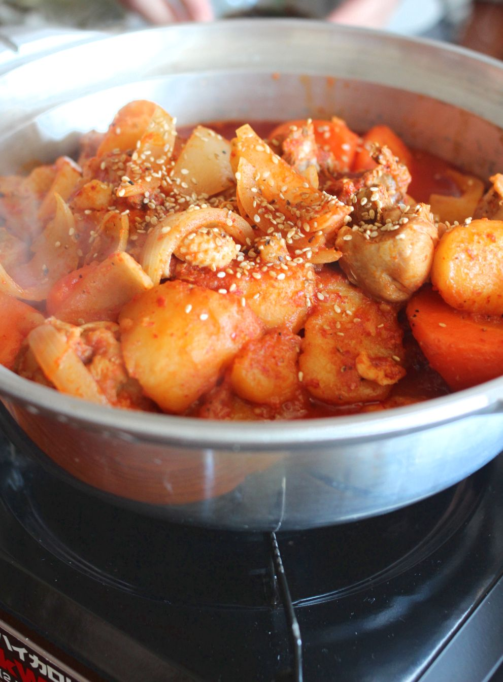韓国料理のおもてなし・・・_b0093830_20205828.jpg