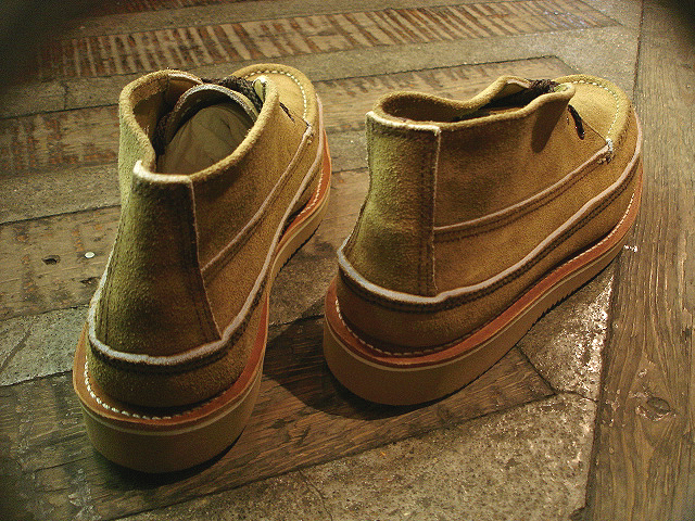 "NEW : RUSSELL MOCCASIN CO.[Sporting Clays Chukka] ""Laramie Suede\"" & \""Driftwood\"" !!_a0132147_2318247.jpg"