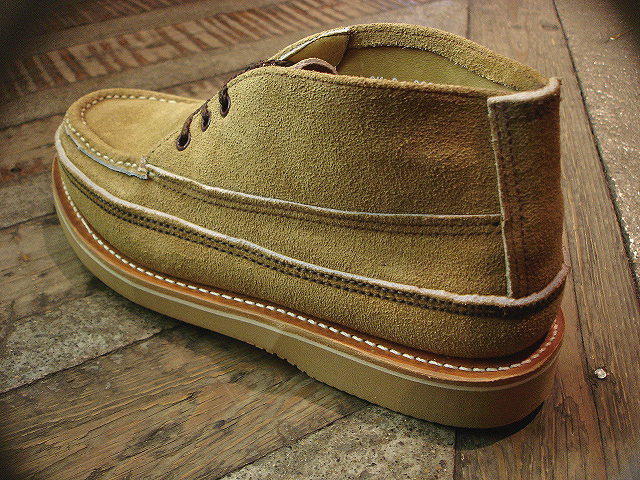 "NEW : RUSSELL MOCCASIN CO.[Sporting Clays Chukka] ""Laramie Suede\"" & \""Driftwood\"" !!_a0132147_23183676.jpg"