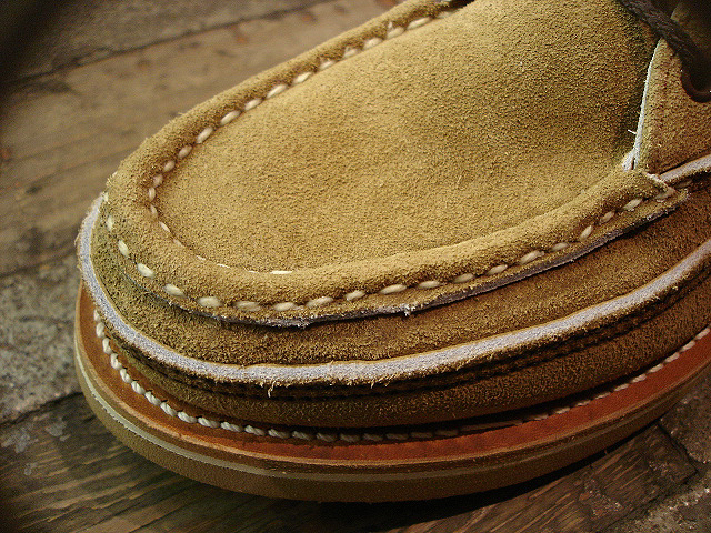 "NEW : RUSSELL MOCCASIN CO.[Sporting Clays Chukka] ""Laramie Suede\"" & \""Driftwood\"" !!_a0132147_23191537.jpg"