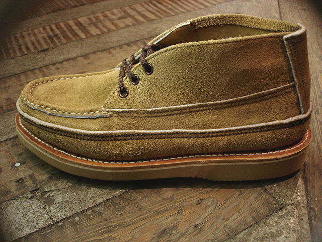 "NEW : RUSSELL MOCCASIN CO.[Sporting Clays Chukka] ""Laramie Suede\"" & \""Driftwood\"" !!_a0132147_23193731.jpg"