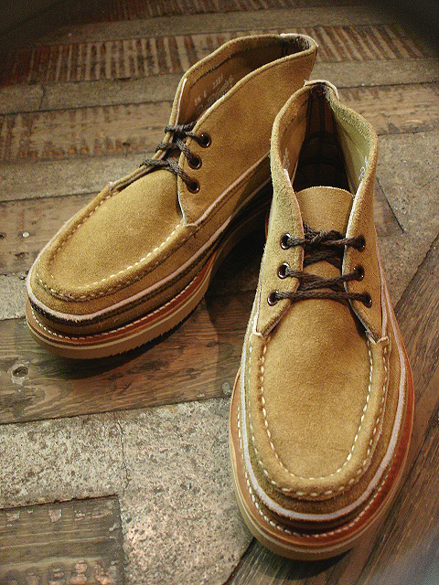 "NEW : RUSSELL MOCCASIN CO.[Sporting Clays Chukka] ""Laramie Suede\"" & \""Driftwood\"" !!_a0132147_23202897.jpg"