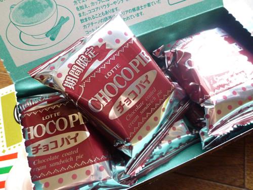 【LOTTE】CHOCO PIE カプチーノ_c0152767_21545496.jpg