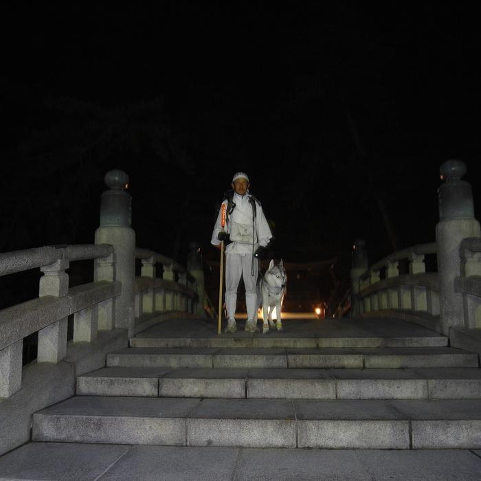 Memory of the second pilgrimage with husky HANA II_c0049299_20395976.jpg