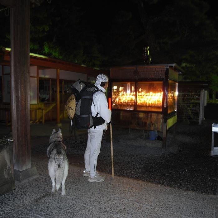 Memory of the second pilgrimage with husky HANA II_c0049299_20411198.jpg