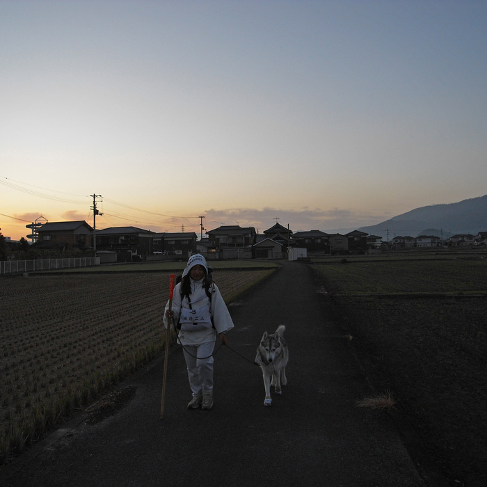 Memory of the second pilgrimage with husky HANA II_c0049299_20555039.jpg