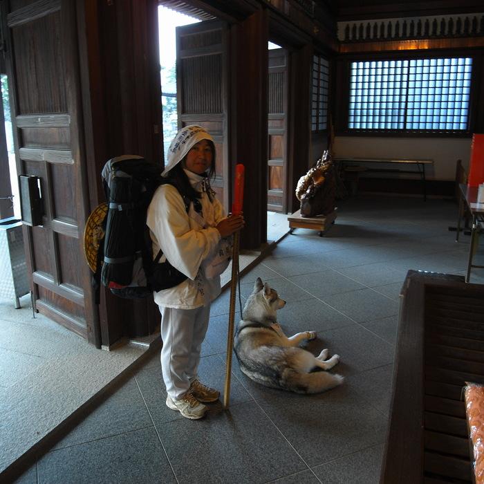 Memory of the second pilgrimage with husky HANA II_c0049299_20582674.jpg