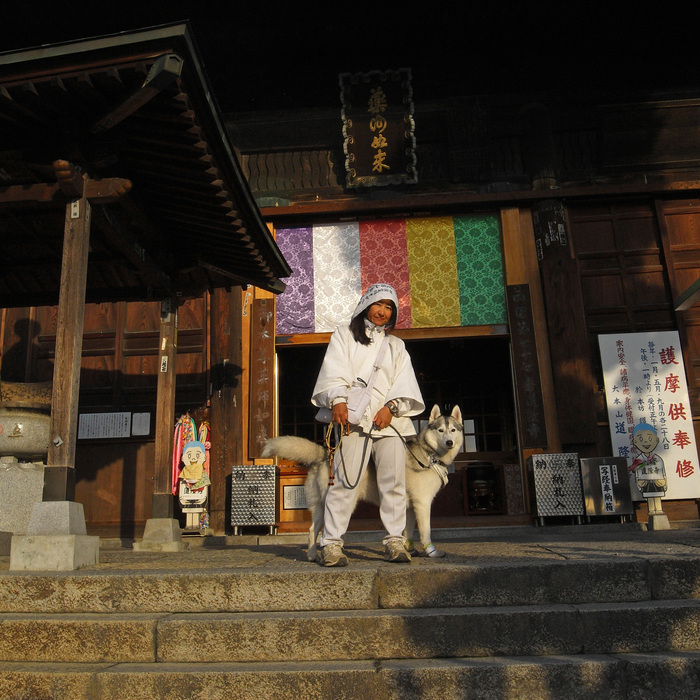 Memory of the second pilgrimage with husky HANA II_c0049299_218891.jpg