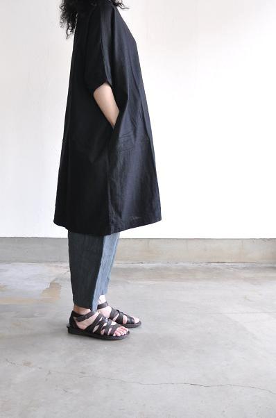 jujudhau/ズーズーダウ <br /> DIAPER PANTS(LINEN GRAY)<br />