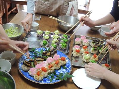 手まり寿司を作りました_b0252363_859385.jpg