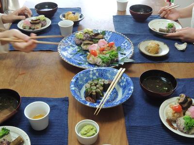 手まり寿司を作りました_b0252363_912238.jpg