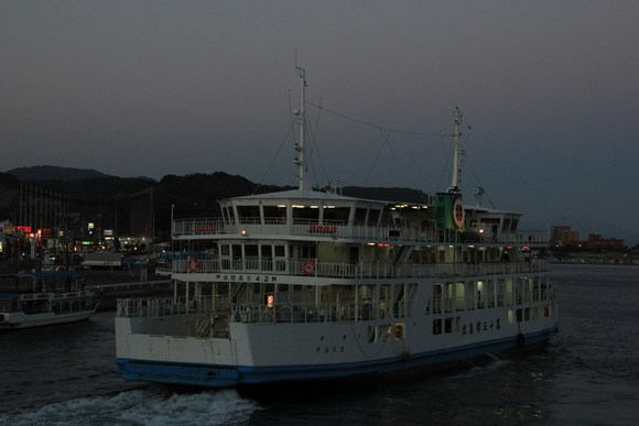 鹿児島帰郷 桜島フェリー_d0202264_20281658.jpg