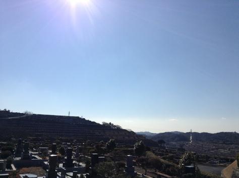 鎌倉霊園へお墓参り。_a0112393_16111134.jpg