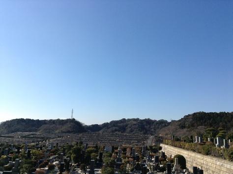 鎌倉霊園へお墓参り。_a0112393_16115254.jpg