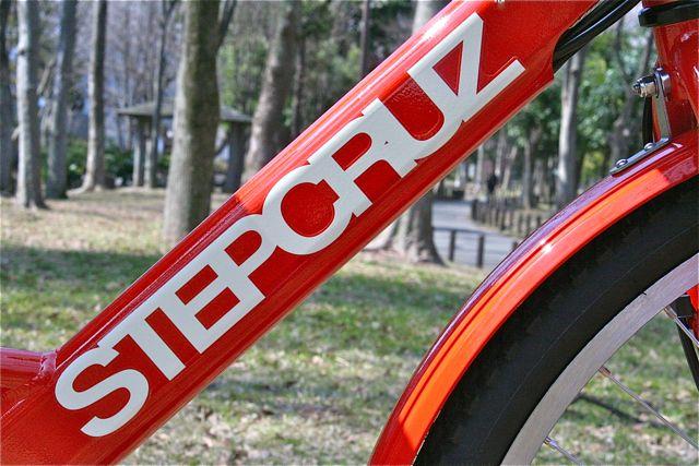 おしゃれmama電動自転車『STEPCRUZ ステップクルーズ』+Yepp イェップ ポリスポート ブリジストン_b0212032_21395164.jpg