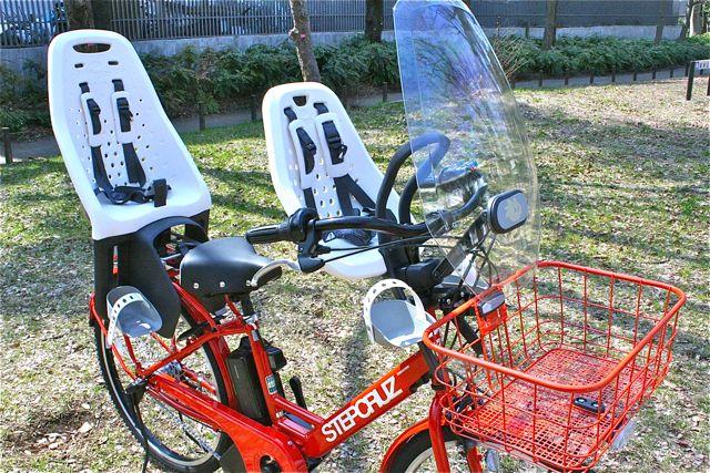 おしゃれmama電動自転車『STEPCRUZ ステップクルーズ』+Yepp イェップ ポリスポート ブリジストン_b0212032_2146115.jpg