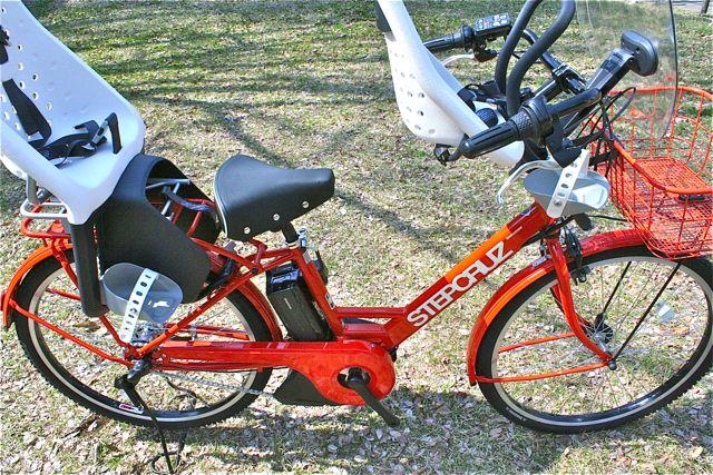 おしゃれmama電動自転車『STEPCRUZ ステップクルーズ』+Yepp イェップ ポリスポート ブリジストン_b0212032_21473687.jpg
