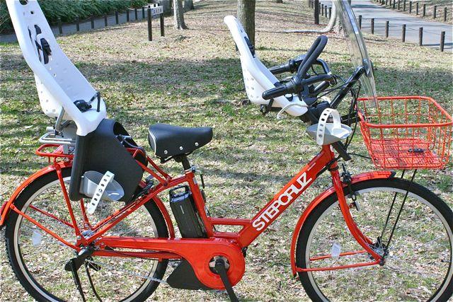 おしゃれmama電動自転車『STEPCRUZ ステップクルーズ』+Yepp イェップ ポリスポート ブリジストン_b0212032_21505215.jpg