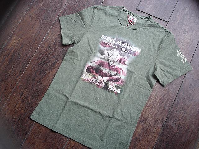 NEW : Barbour [The Steve McQueen™ Collection] [McQueen TEE-SHIRT] !!_a0132147_2111417.jpg