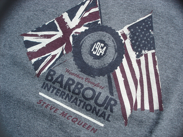 NEW : Barbour [The Steve McQueen™ Collection] [McQueen TEE-SHIRT] !!_a0132147_21121336.jpg