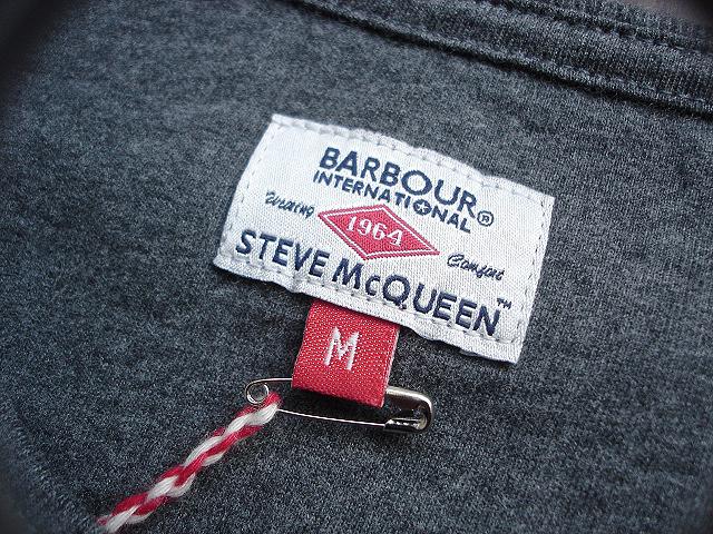 NEW : Barbour [The Steve McQueen™ Collection] [McQueen TEE-SHIRT] !!_a0132147_21122565.jpg