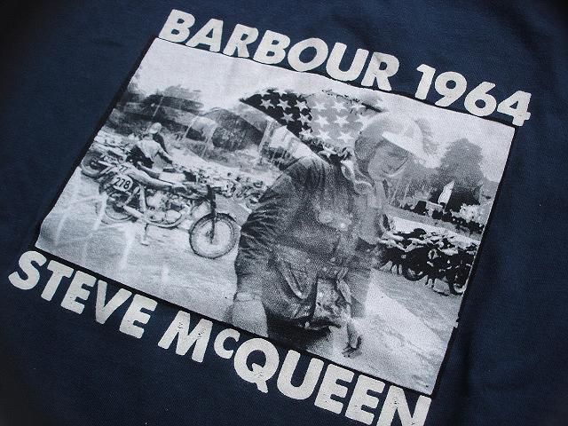 NEW : Barbour [The Steve McQueen™ Collection] [McQueen TEE-SHIRT] !!_a0132147_21294.jpg